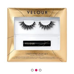 NEW- VELOUR LINER AND LASH SET